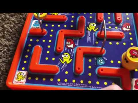 PAC-MAN Magnetic Maze Game By Tomy