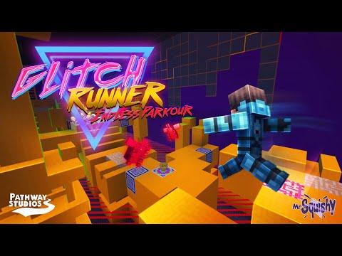 glitch-runner-[minecraft-marketplace]-endless-parkour