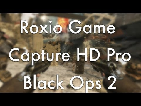 Roxio Game Capture HD Pro Quality Test - Black Ops 2 - PS3