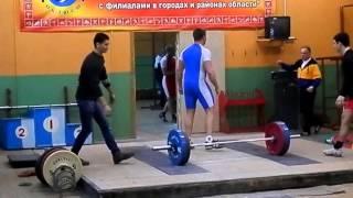 Чемпионат Липецкой области по тяжелой атлетике 2016