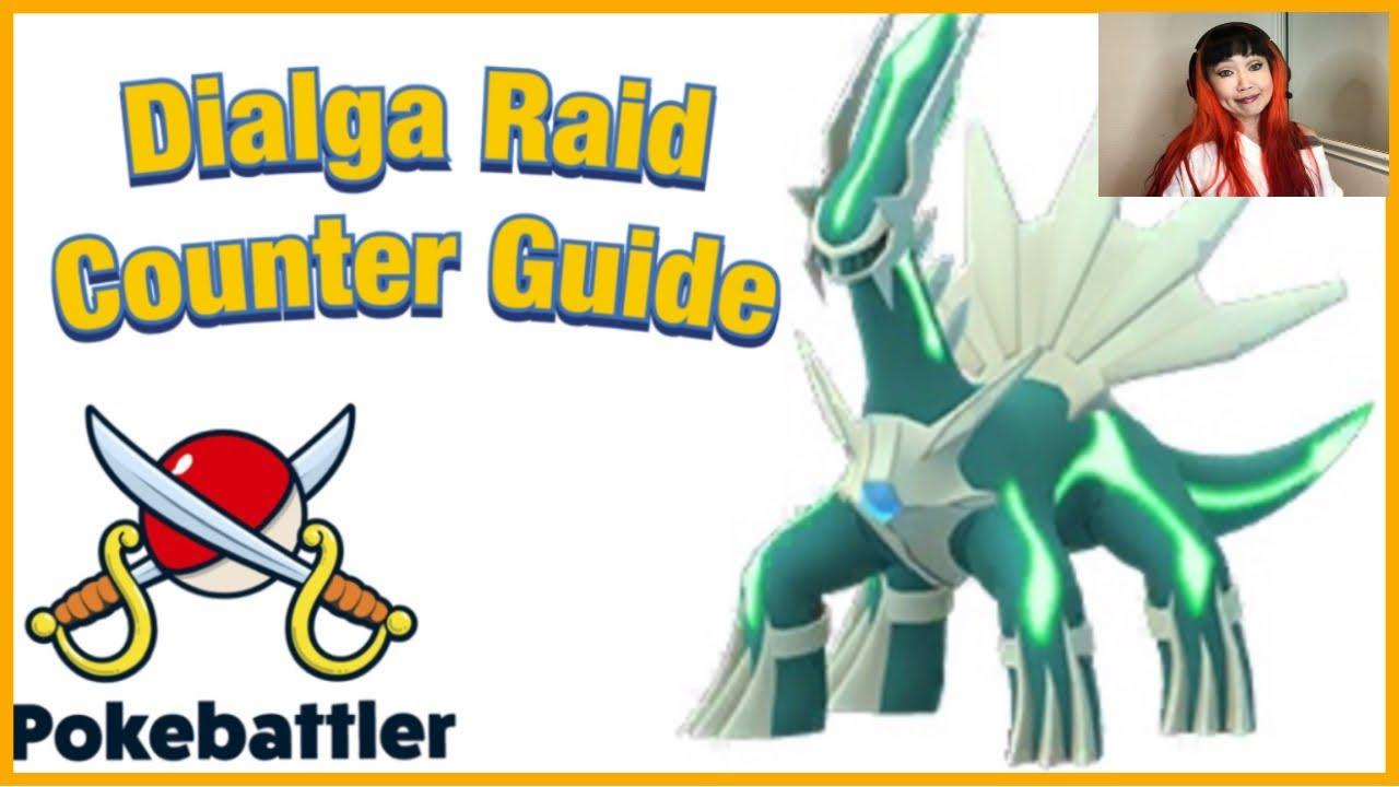 Dialga Raid Counter Guide by Pokebattler