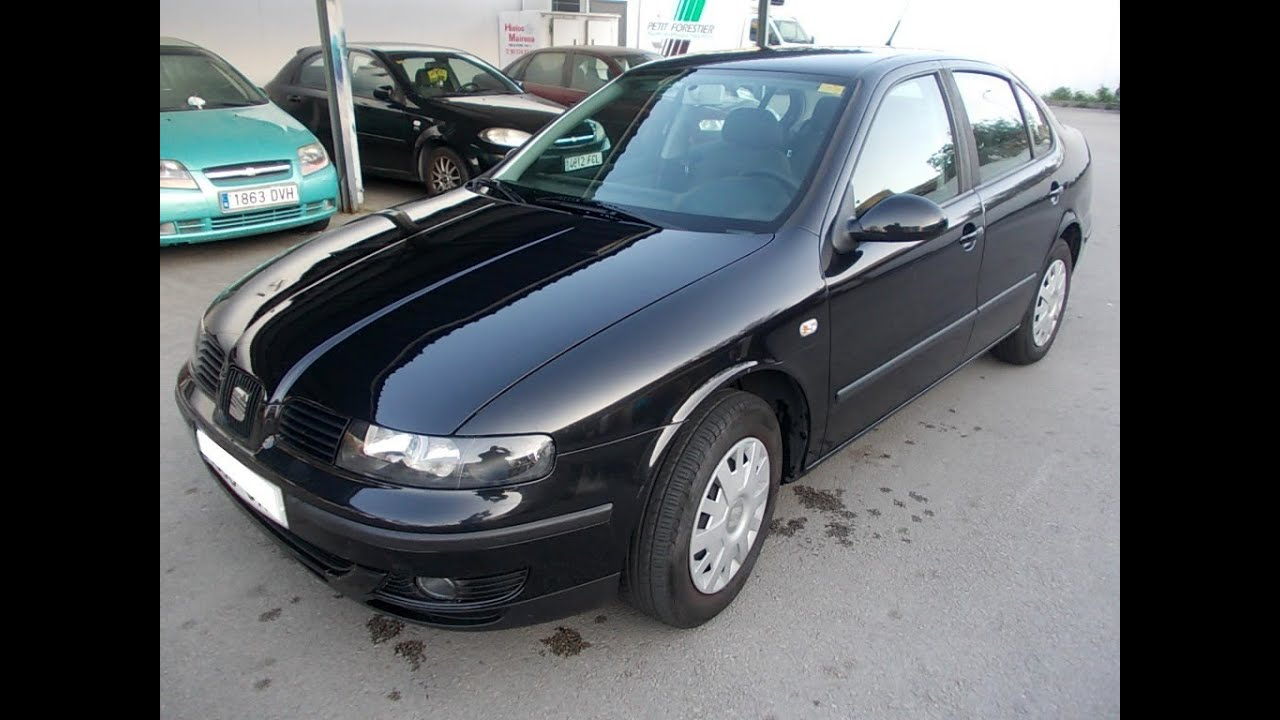 seat toledo 1 9 tdi 110cv a o2005 120000kms 3900 youtube. Black Bedroom Furniture Sets. Home Design Ideas