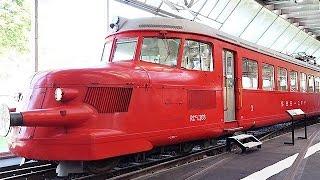 スイス交通博物館=機関車やジェット機、潜水艦など3000点展示