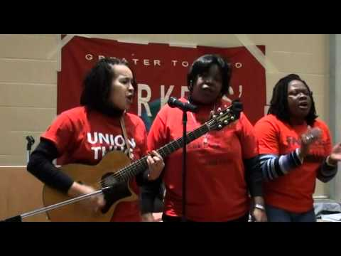 Faith Nolan and the CUPE Freedom Singers [1/4]