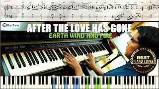 After The Love Has Gone / Piano Cover Instrumental Tutorial Guide