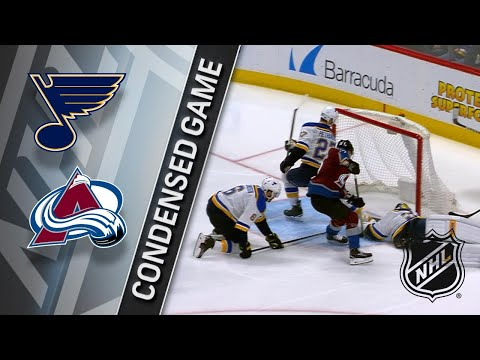 04/07/18 Condensed Game: Blues @ Avalanche