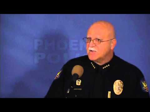 Police Chief Daniel Garcia press conference