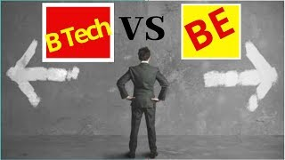 Difference between BE and BTech|By maths techy