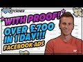 *With Proof* Over £700 in 1 Day With Facebook Ads | Shopify Dropshipping