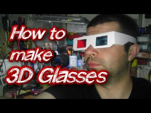 How to Make 3D Glasses - YouTube