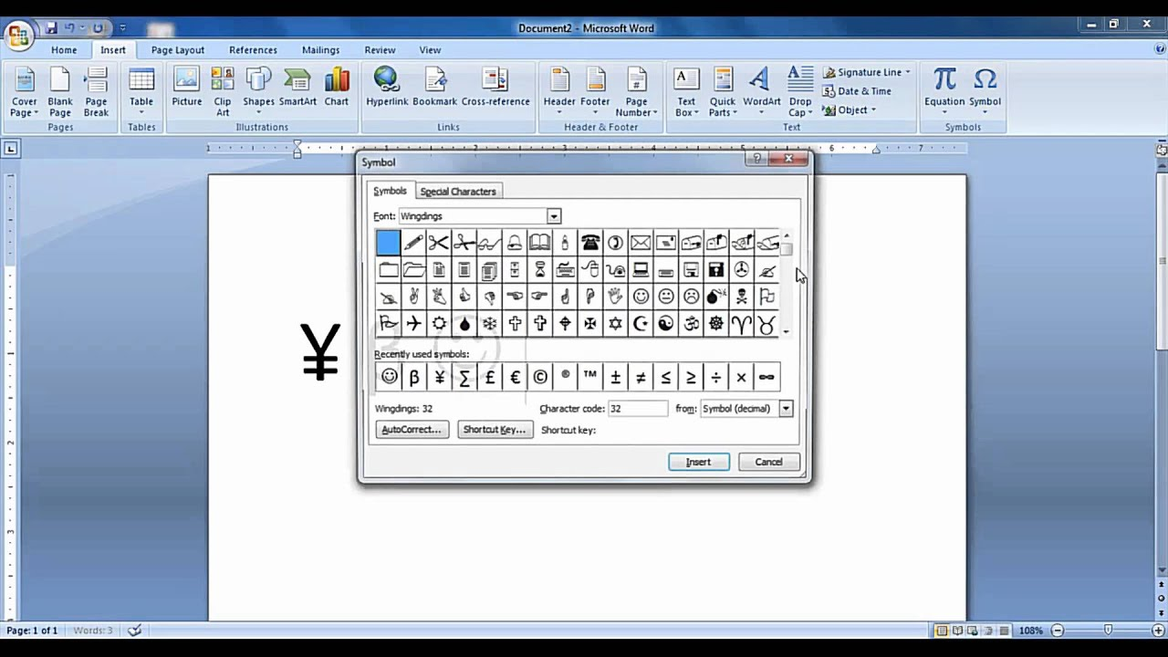 How To Insert Symbols In Ms Word Document Tips Tricks Free