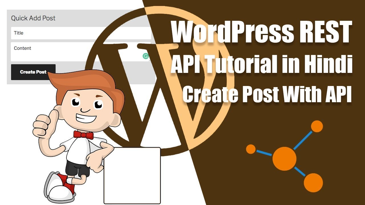 WordPress REST API Tutorial in Hindi: Create Post Using WP REST API