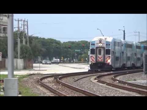 Tri-Rail P668-11 at West Palm Beach station