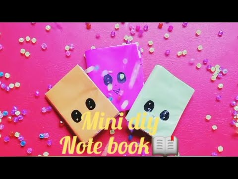 How to make diy note book