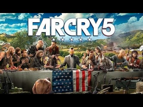 Far Cry 5 Eden's Gate 1 The Warrant - Joseph Seed - No Way Out Car Chase - Liberate Dutch's Island