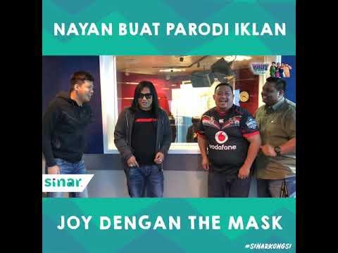 Ropie aka Nayan Buat Parodi Iklan Joy Dengan The Mask