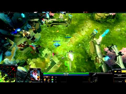 GAME TUTORIAL DOTA 2 Sniper Skills