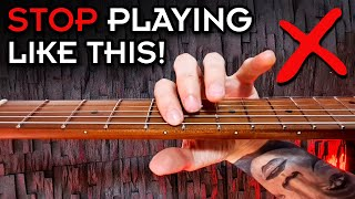 The 6 WORST Guitar Technique Mistakes (and 6 exercises to FIX them!)