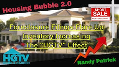 Housing Bubble 2.0 - Foreclosure Filings Flare Up - Inventory Increasing - The HGTV Effect