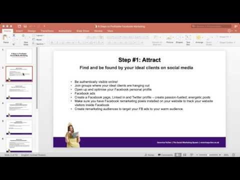 Profitable Social Media Marketing with Veronica Pullen and Jennifer Blanchard