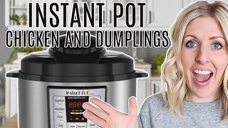 Instant Pot Chicken and Dumplings - Perfect for Beginners