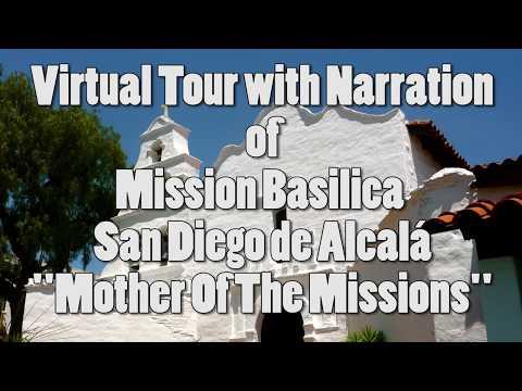 Virtual Tour Of The San Diego De Alcalá Mission