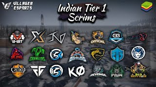 [Hindi] Indian 🇮🇳 Tier 1 Scrims (Phase 2 - Day 3) • PUBG Mobile • Villager Esports | Bluestacks