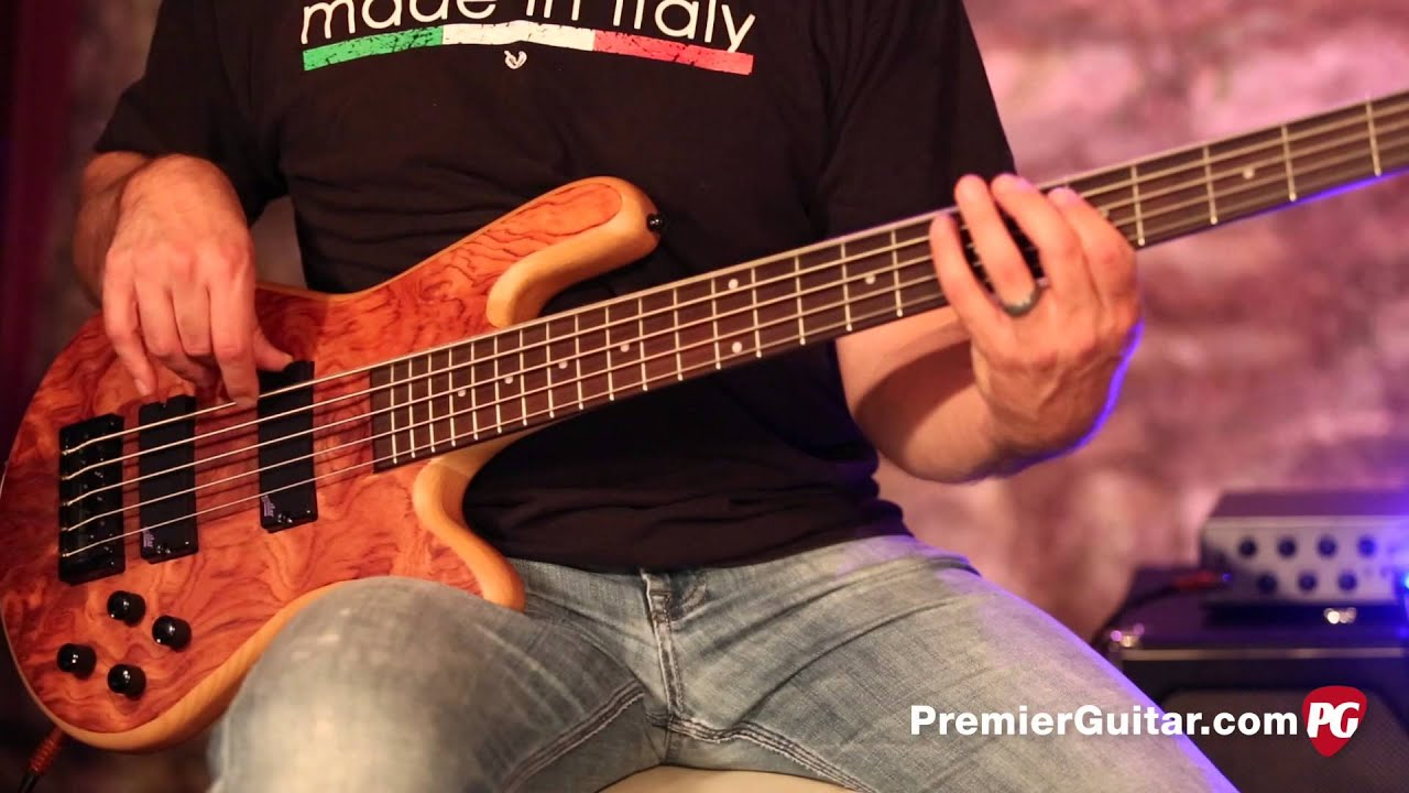 review demo spector legend 5 string bass youtube