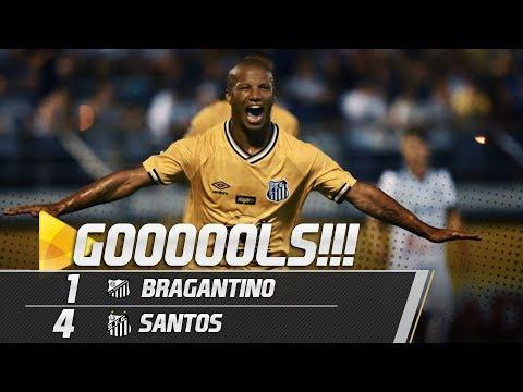 Bragantino 1 x 4 Santos | GOLS POR OUTRO ÂNGULO | Paulistão (31/01/19)
