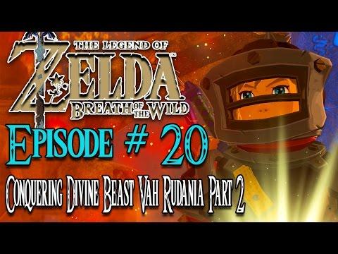 The Legend of Zelda Breath of The Wild Walkthrough #20 - FINISHING OFF VAH RUDANIA