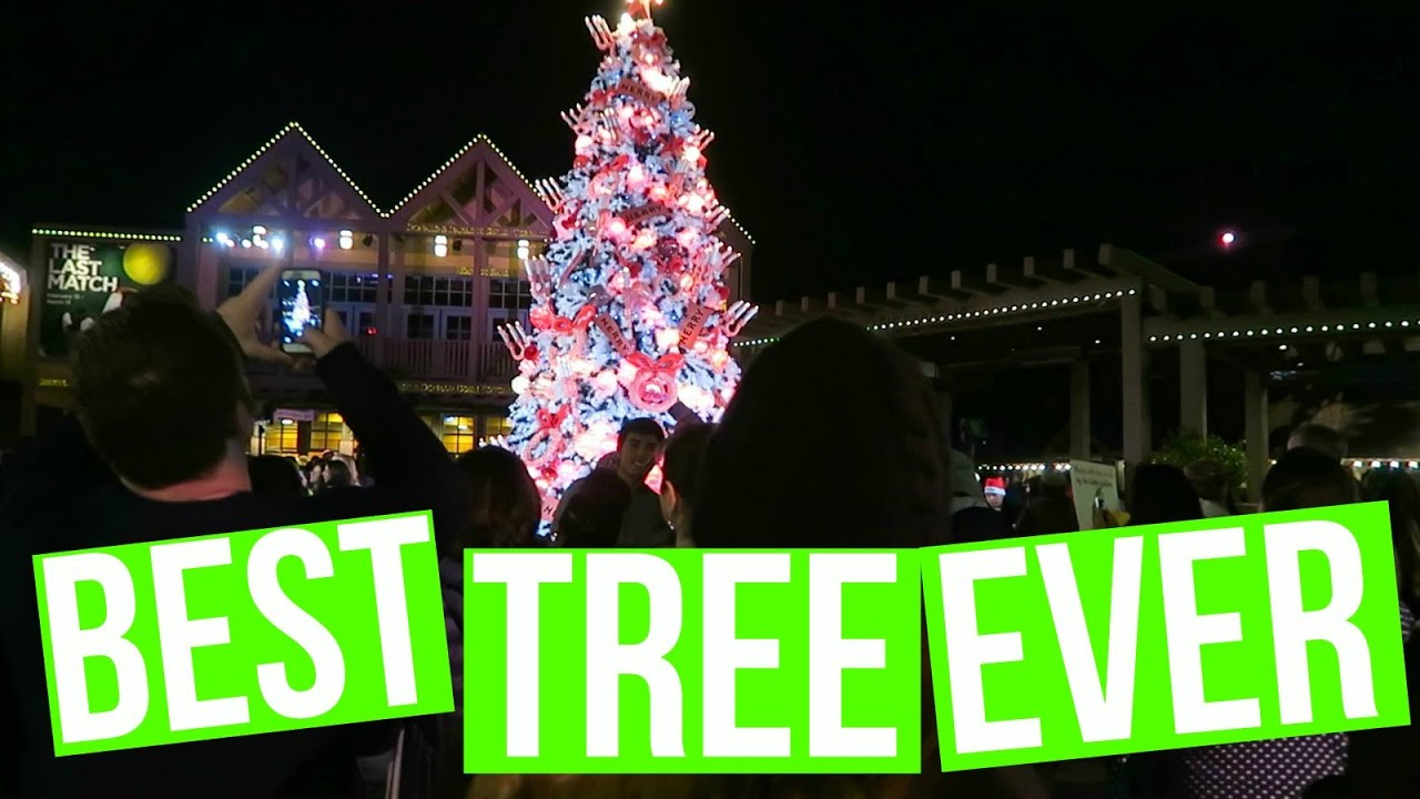 CUTEST CHRISTMAS TREE IN SAN DIEGO | Vlogmas Day 4 - YouTube