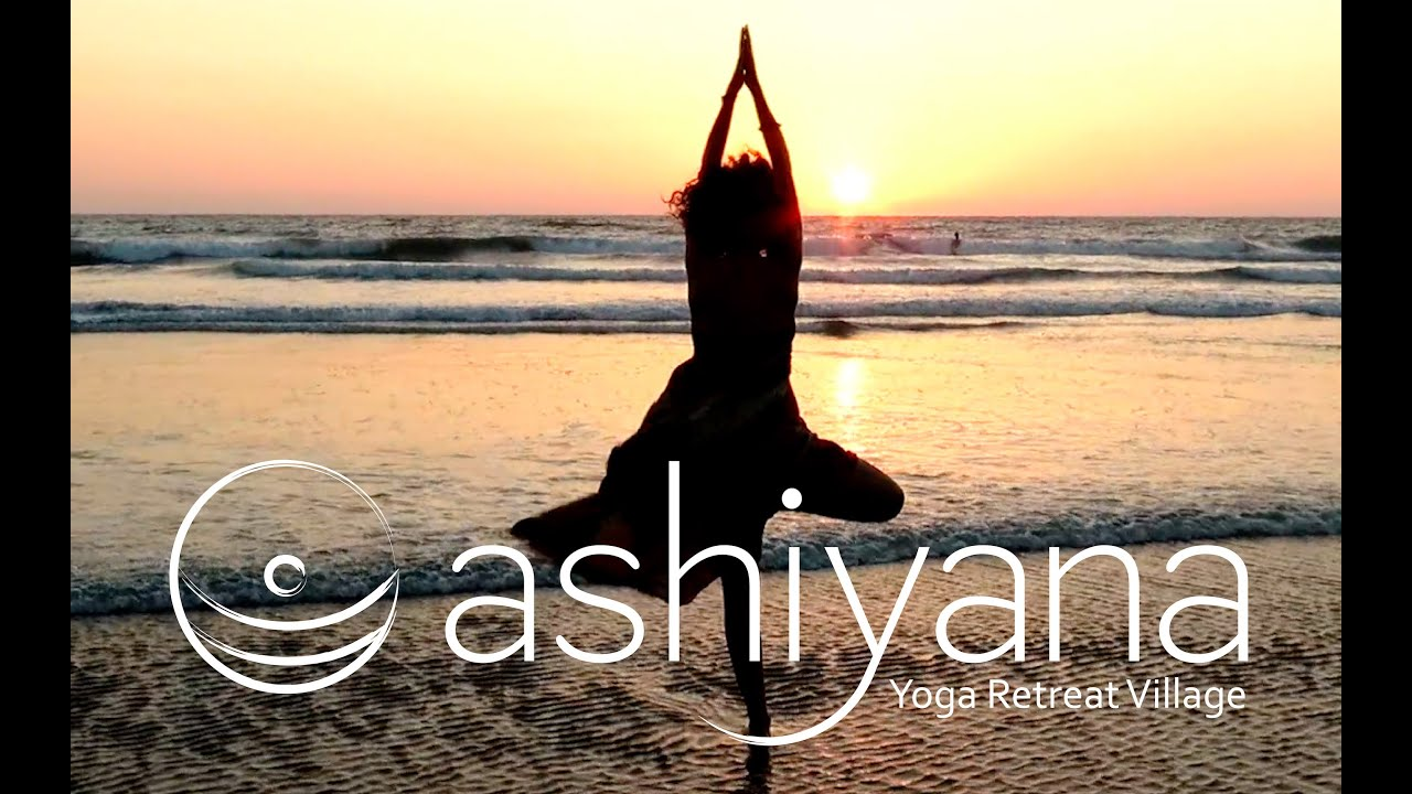 Ashiyana Yoga Retreat Village Mandrem Beach Goa India