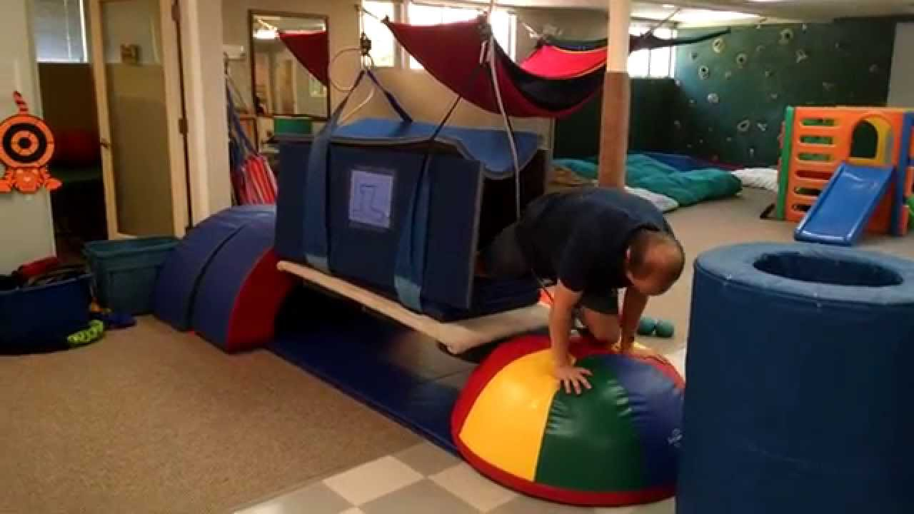 Thomas The Tank Engine Heavy Work Sensory Obstacle Course