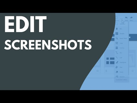 How to Edit Your Screenshots and Images (Snagit 2021)