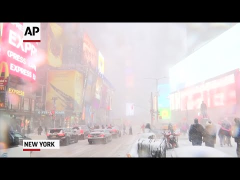Navigating The Storm In Times Square
