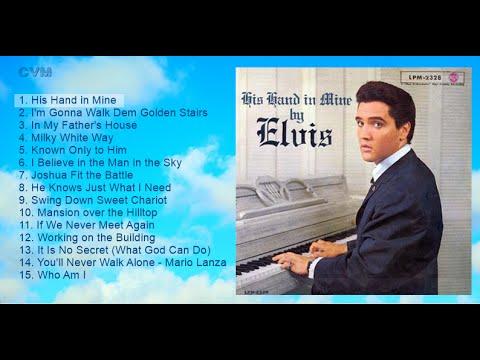Elvis Presley - His Hand in Mine (Long Play)