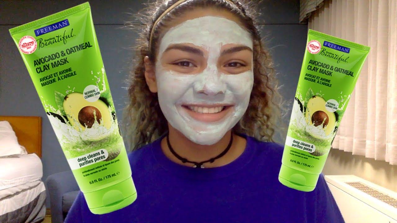 Very Avocado oatmeal facial mask sorry, this