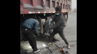 Work hard& work smart--- Chinese mechanic have both characteristics