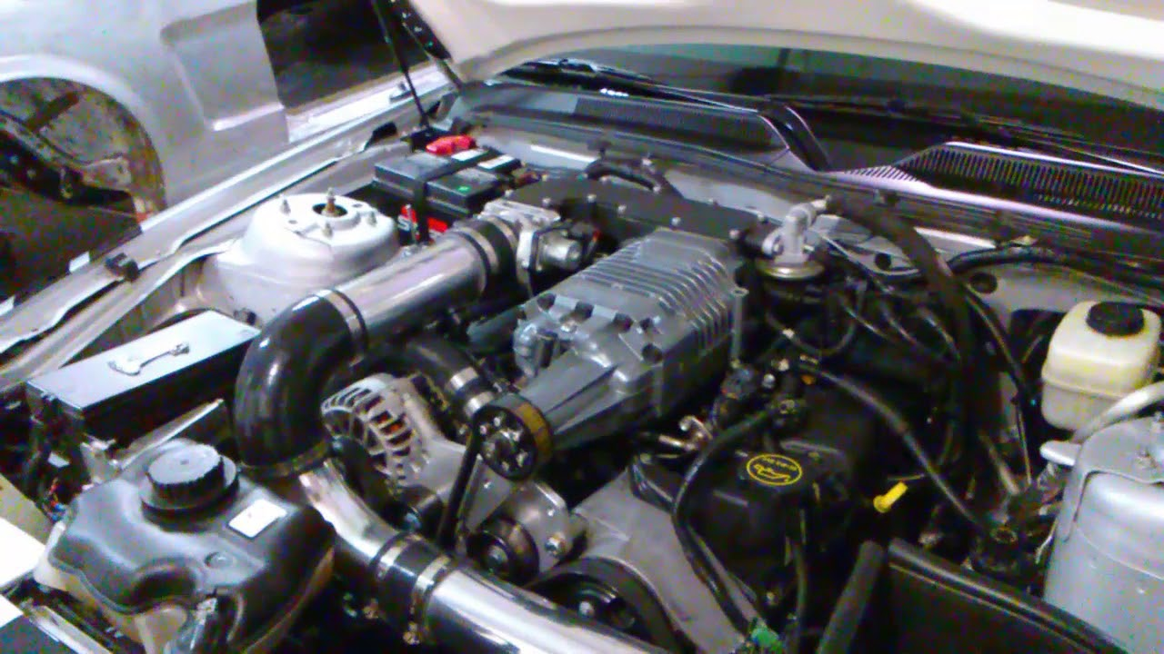 2007 09 mustang 4 0 liter v6 moddbox supercharger kit follow up video