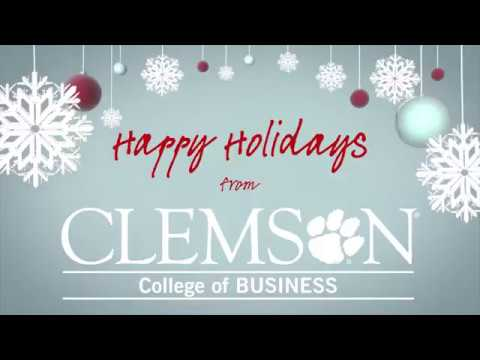 College of Business Holiday Video 2017