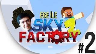 Sky Factory 2 - Bölüm 2 - Eritme Çalışmaları