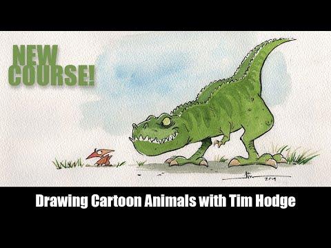 new-course-sneak-peek---drawing-cartoon-animals-with-tim-hodge