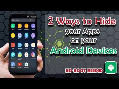 How To Hide Any Apps On Your Android (no Root) - Android Tips & Tricks 2017