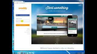 How to Make a Free Website with Weebly