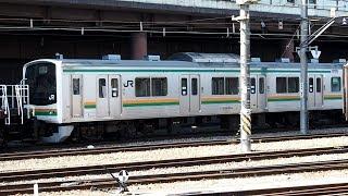2019/03/20 【入換】 205系 Y4編成 大宮総合車両センター | JR East: Shunting of 205 Series Y4 Set