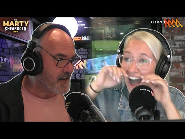 Loren Gets Roasted For Her Bad Sheet | Marty Sheargold Show | Triple M