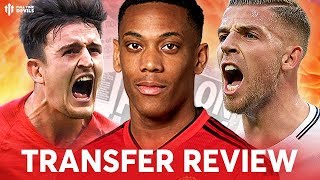ALDERWEIRELD, MAGUIRE, MARTIAL! Manchester United Transfer News Review