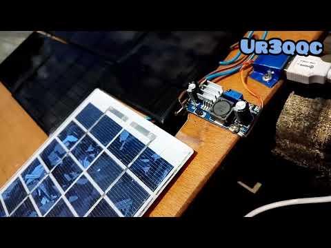 Зарядка телефона с помощью Солнечных панелей