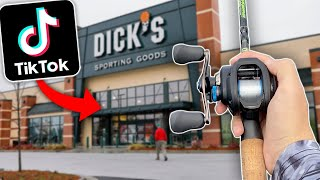 """I Let My """"For You"""" Page Choose My Fishing Lures! (TIK TOK Fishing Challenge)"""