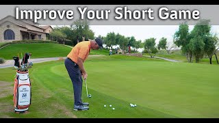 Easy Golf Lesson to Improve Your Chipping.